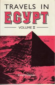 Travels in Egypt Vol. II |  | Darf Publishers