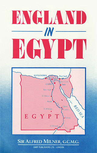 England in Egypt   9781850771340   Darf Publishers