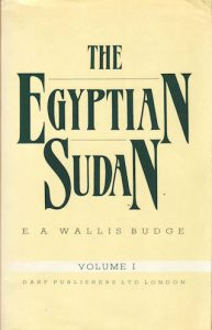 The Egyptian Sudan Vol I | 9781850770770 | Darf Publishers