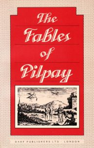 The Fables of Pilpay | 9781850771449 | Darf Publishers