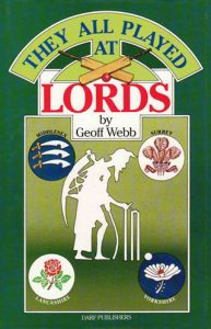 They All Played at Lords | 9781850772231 | Darf Publishers